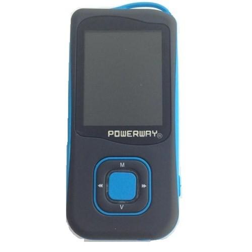 Powerway PWR-007 2GB Siyah/Mavi Mp4 Player (KSFPOWERPWX07C)