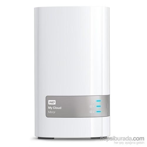 "WD My Cloud Mirror 6 TB Ethernet 3.5"" Kisisel Bulut Depolama WDBZVM0060JWT-EESN"