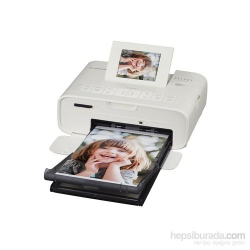 Canon Selphy CP1200 WH Kompakt Fotoğraf Yazıcı-Beyaz