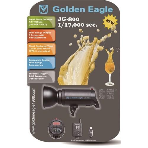 Golden Eagle Jg-800 1/17000 Sec Paraflash