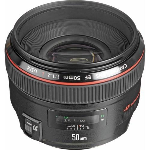 Canon EF50MM F1.2L USM Objektif