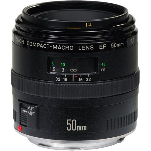 Canon EF 50mm f/2,5 Macro Objektif