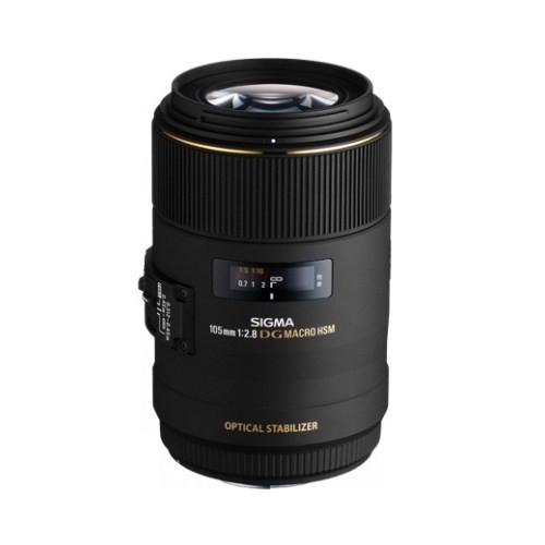 Sigma 105MM F/2.8 EX DG OS HSM Macro Objektif Canon Uyumlu