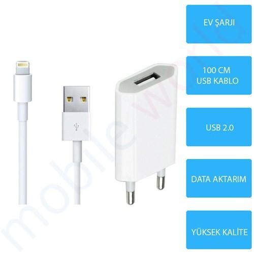 Mobile World iPad Mini / Mini 2 / Mini 3 Şarj Seti