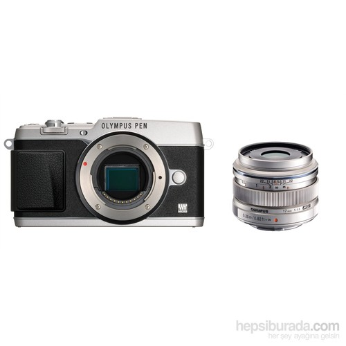 Olympus E-P5 + 17mm F1.8 Super Kit Aynasız DSLR Fotoğraf Makinesi