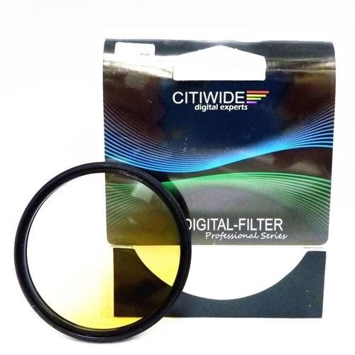 Citiwide 58Mm Gradual Degrade Kademeli Sarı Filtre