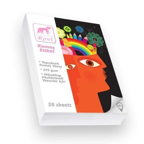 Rovi Fine-Art Kumaş Yüzeyli Etiket - 275Gsm - 50Yp - A3