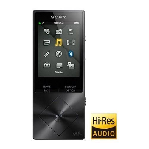 Sony Nwz-A15 Walkman Yüksek Çözünürlüklü Müzik Çalar Siyah