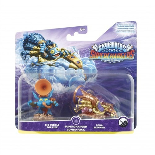 Activision Skylanders Superchargers Supercharged Combo Bıg Bubble Pop Fızz + Soda Skimmer