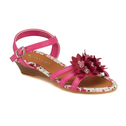 Pink Step 201589 Pembe Kız Çocuk Sandalet