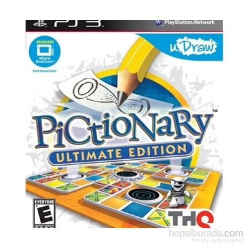 Udraw + Pictionary Ultimate Edition PS3