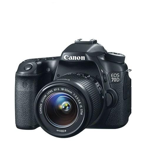 Canon 70D + 18-55 Mm Is Stm Lens Fotoğraf Makinesi