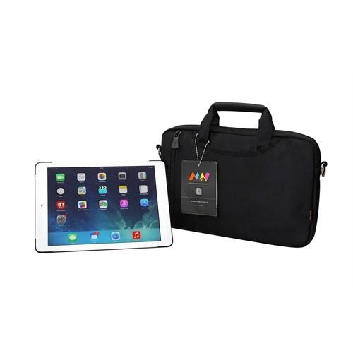 """M&W ColorDAY NB-1537-11-S 7""""-11,6"""" Siyah Tablet Çantası"""