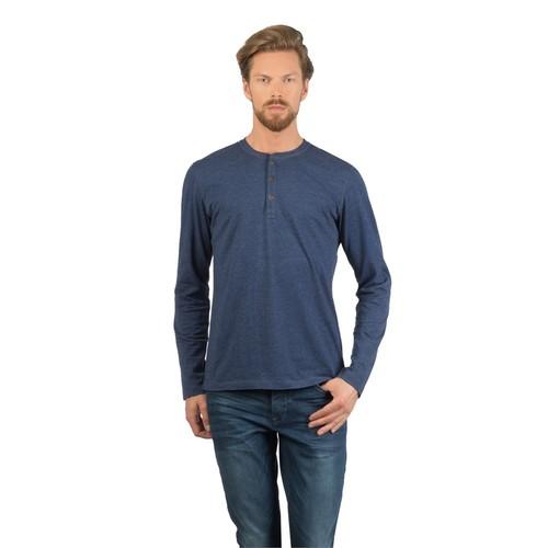 Colin's Lacivert Erkek Tshirt Uzun Kol