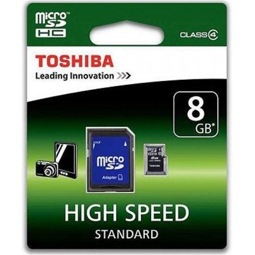 Toshiba 8 Gb Class 4 Micro Sd Hafıza Kartı