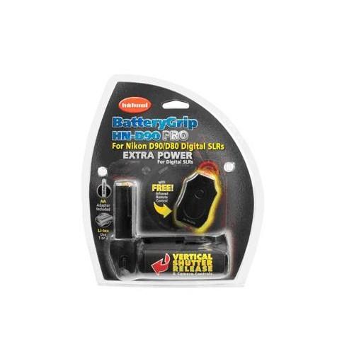 Hahnel HN-D90/D80 Nikon Type Battery Grip + Remote