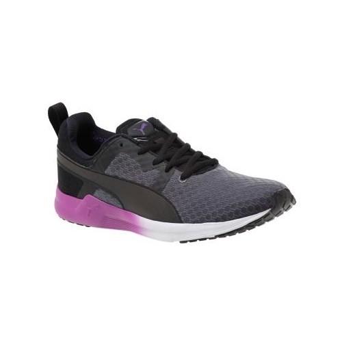 Puma Pulse Xt Core Periscope-Black-White Kadın Koşu Ayakkabı