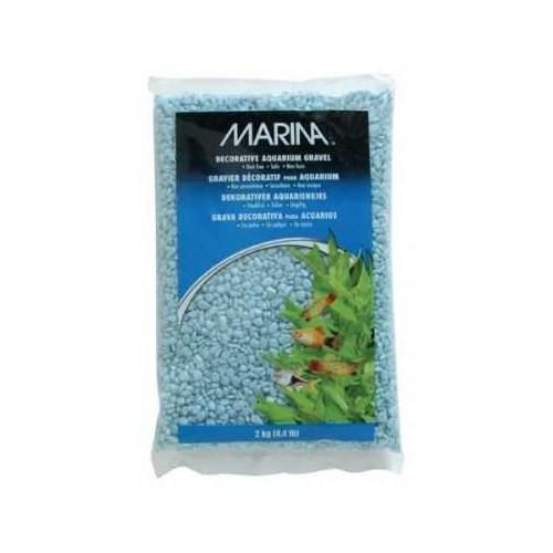 Marina Renkli Çakıl Mavi 2 Kg