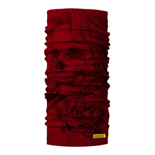Bandanax Ultimate Red Skull Bandana