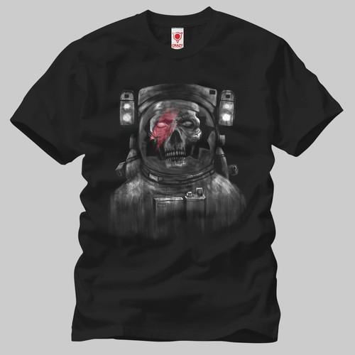 Cosmonot Skull Erkek Tişört