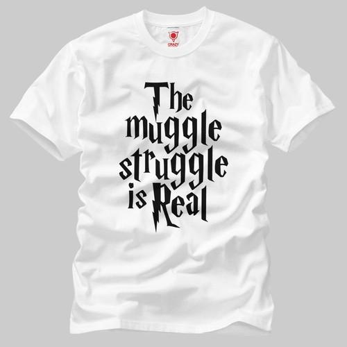 Harry Potter: The Muggle Struggle Erkek Tişört