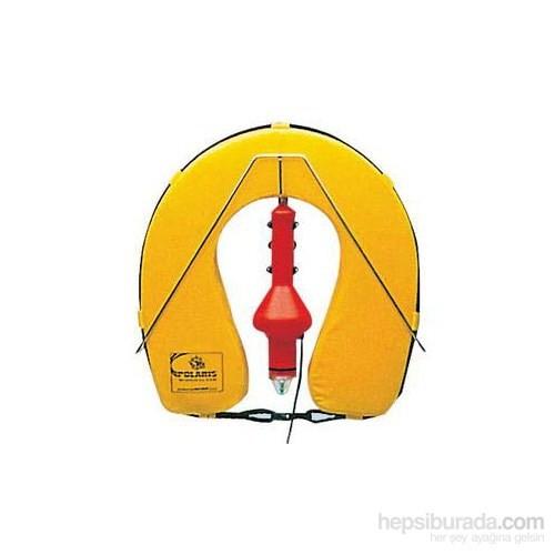 Osculati Nal Can Simidi Seti. Simit+ Işıklı Şamandıra+Paslanmaz Çelik Braket. Sarı