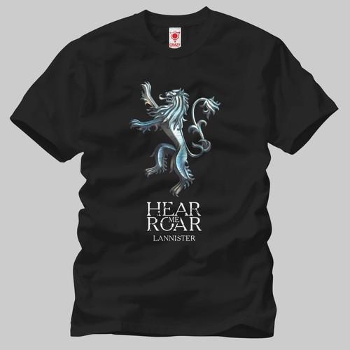 Game Of Thrones Lannister Metal Erkek Tişört