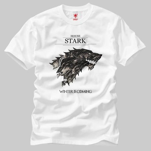 Game Of Thrones: Winter Is Coming Glass Erkek Tişört