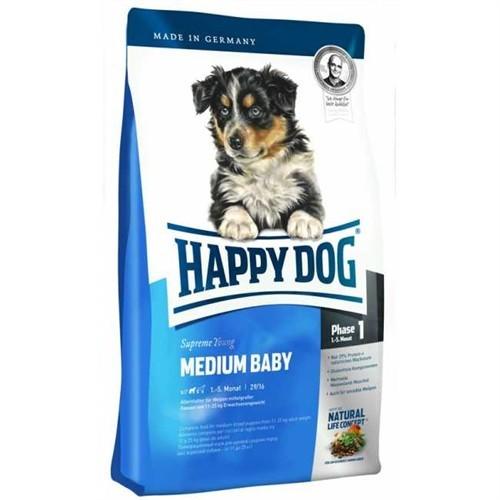 Happy Dog Medium Baby Orta Irklar İçin Başlangıç Maması 1-5 Ay 10Kg