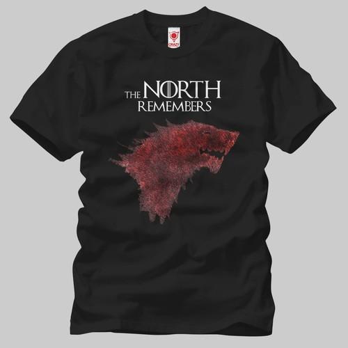 Game Of Thrones: North Remember Erkek Tişört