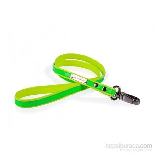Neon Yeşil-Sarı S Gezdirme Tasması