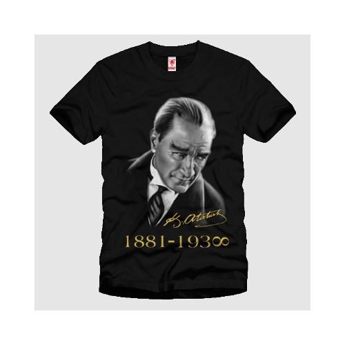 Mustafa Kemal Atatürk Erkek Tişört