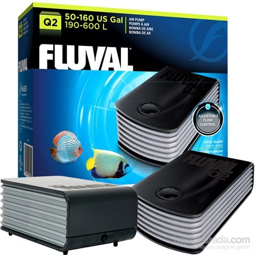 Fluval Q2 Hava Pompası 600 Lt gk