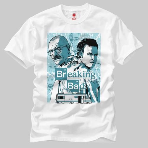 Breaking Bad: Screen Print Erkek Tişört