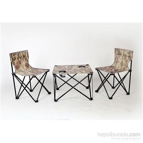 Andoutdoor Çantalı Masa Sandalye Set AND200