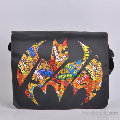 Thrumm Batman Slice Logo Postacı Çantası