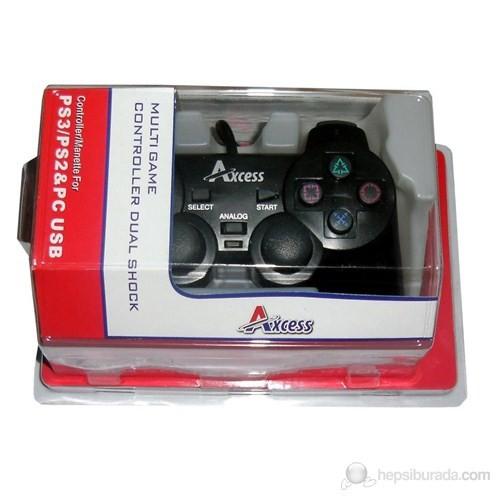 Axcess PS3/PS2/PC Uyumlu Analog Controller
