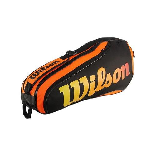 Wilson Burn Team X3 Orange Tenis Çantası