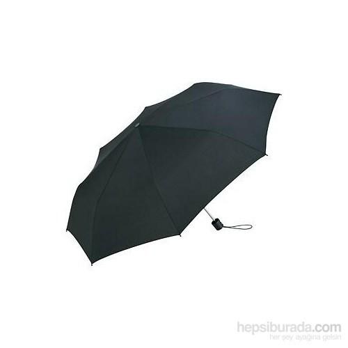 Biggbrella 3401Bs Mini Şemsiye Çizgili Siyah