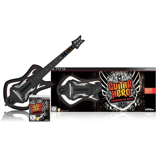 Guitar Hero Warrior Of Rock Guitar Bundle Ps3