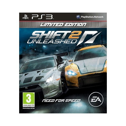 Nfs Shift 2 Unleashed Limited Edition Ps3