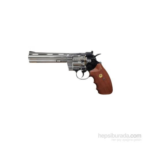 Kwc Smith & Wesson 6 Inç Parlak Havalı Tabanca