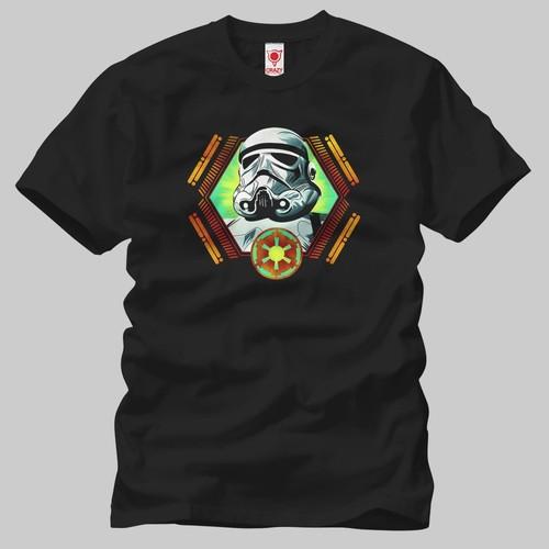 Star Wars: Trooper Emblem Erkek Tişört