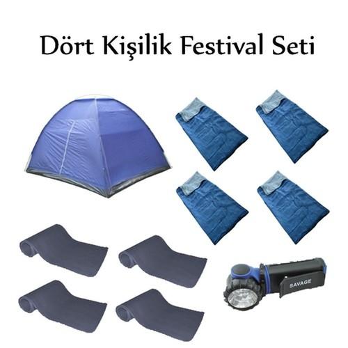 Savage Çadır 4 Kişilik Festival Seti