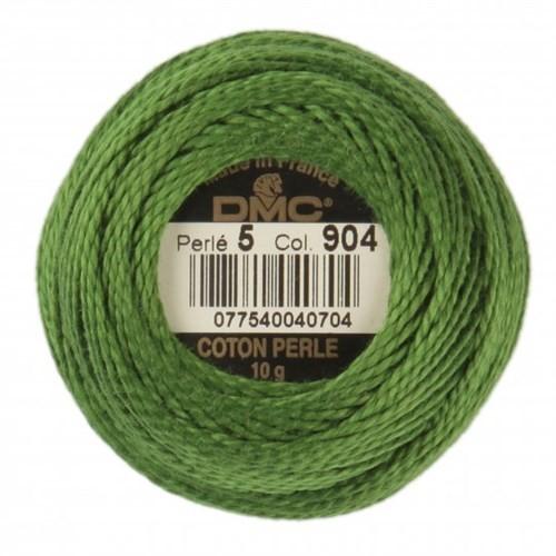 Dmc Koton Perle Yumak 10 Gr Yeşil No:5 - 904