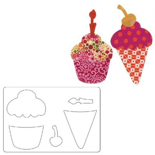 Sizzix Cupcake Külah Ve Vişne Şeklinde Kesici Kalıp - 1657884