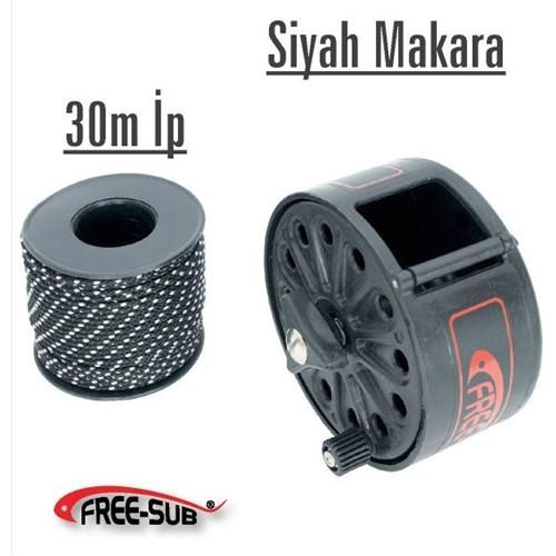 Free-Sub Siyah Makara + 30Mt İp