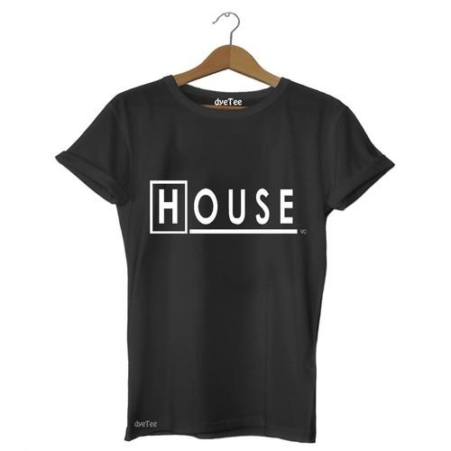Dyetee House Erkek T-Shirt