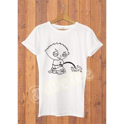 Dyetee Pee Erkek T-Shirt