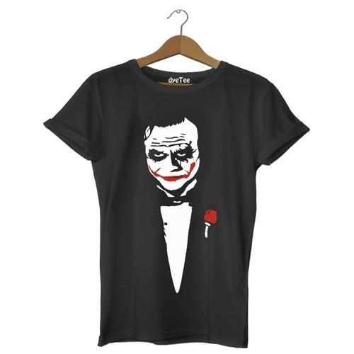 Dyetee Joker The Jocker Erkek T-Shirt